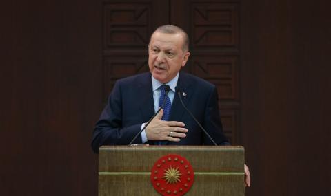 Ердоган сравни коронавируса с Втората световна война