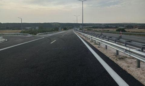 """Започва ремонт на 6 км от АМ """"Марица"""" в участъка от Капитан Андреево до Свиленград - 1"""