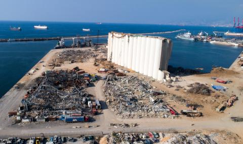 Рицарите на Колумб дариха $250 000 за възстановяването на Бейрут