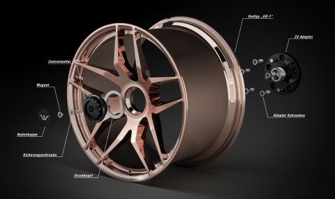AMG GT Black Series получи джанти за 20 хиляди долара - 12