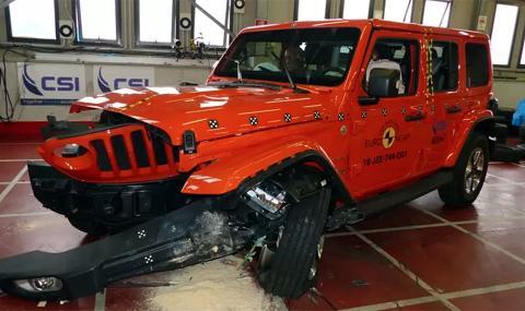 Най-опасните нови автомобили са Jeep Wrangler и Fiat Panda