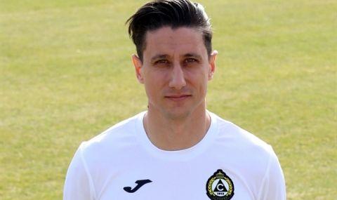 Славия официално представи Михаил Александров като свой футболист