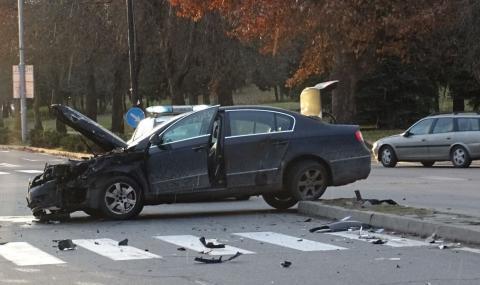 По-малко пътни катастрофи спрямо януари 2019-а