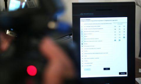 Фирма за машини за гласуване обжалва отстраняването ѝ от обществената поръчка