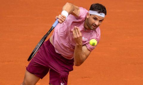 Григор Димитров приключи участието си в Мадрид още в първия кръг