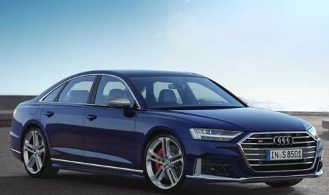 Това е новото Audi S8