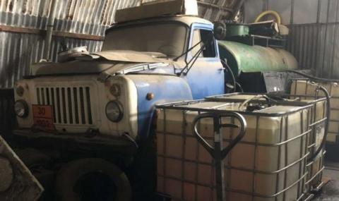 Заловиха 9000 литра нелегално гориво в София