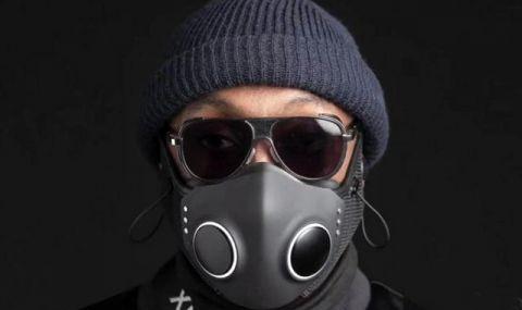 Рапърът Уилям Адамс представи защитна маска за $300