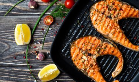 Рецепта за вечеря: Грилована риба със зеленчуци