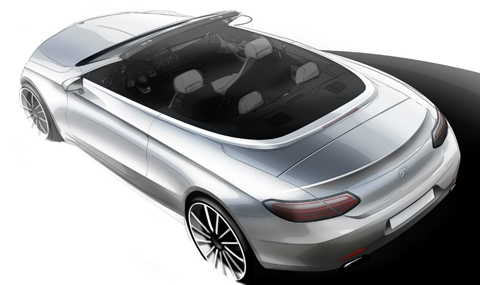 Mercedes показа C-Klasse Cabriolet
