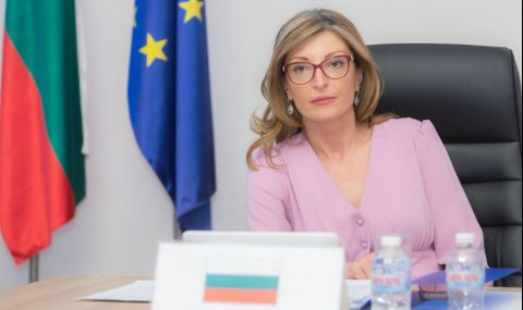 Екатерина Захариева осъди присъдата на Алексей Навални