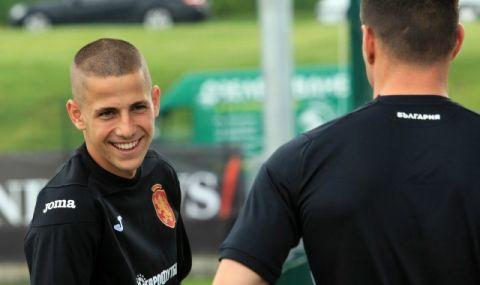 Мартин Минчев игра 10 минути за Спарта Прага в последния мач за сезона