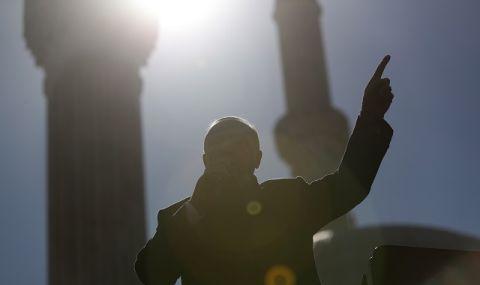 Ердоган откри нова джамия на площад