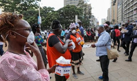Германската армия изгуби 6 млн. маски в Кения