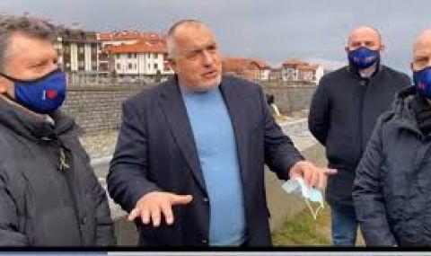 Борисов е на инспекция в Банско (ВИДЕО)
