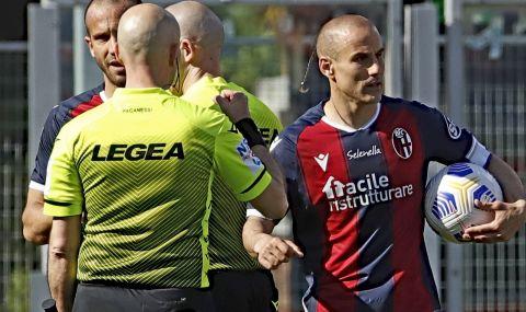 Съотборник на Антов везе в историята на Серия А
