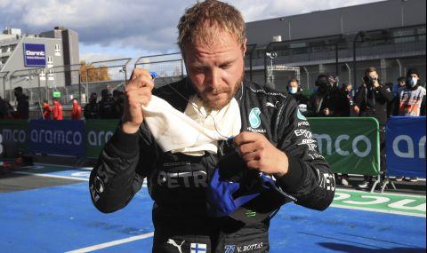 Ботас с най-добро време на първата свободна тренировка за Гран при на Русия - 1