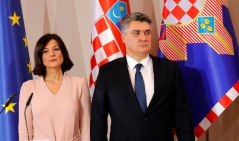 Зоран Миланович е президент на Хърватия