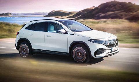 Запознайте се с Mercedes-Benz EQA