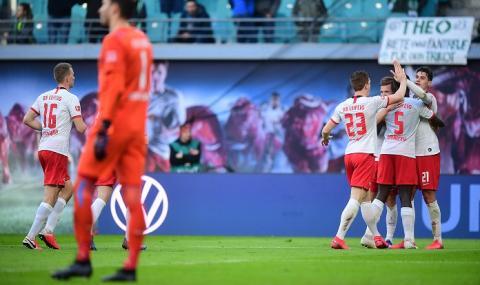 РБ Лайпциг срази Вердер и постави Байерн Мюнхен под напрежение