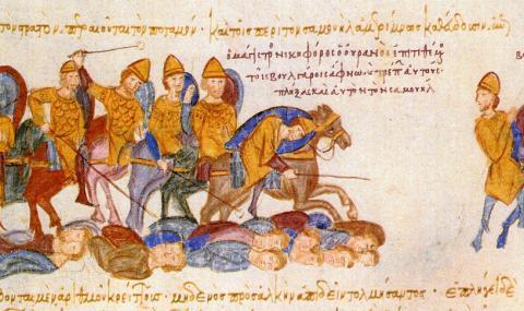 29 юли 1014 г. Василий II ни разбива при Ключ