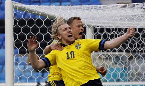UEFA EURO 2020: Дузпа върна Швеция в битката за осминафиналите