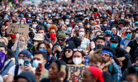 Мнозинството в САЩ подкрепя протестите в страната