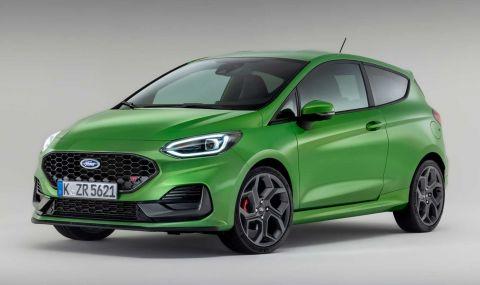 Ford Fiesta с нова визия за 2022 година - 1