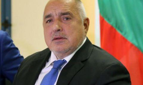 Борисов се скри от журналисти при предаването на властта