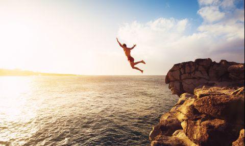 Мъж загина след скок от 40 метра, вижте защо (ВИДЕО)