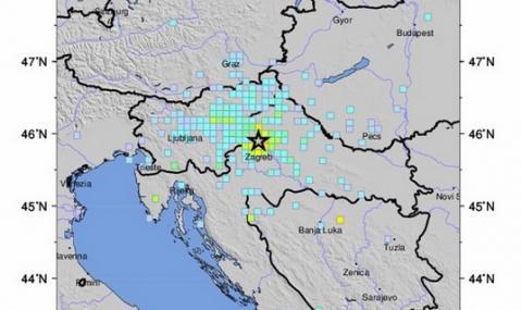 Първа жертва на земетресението в Хърватия