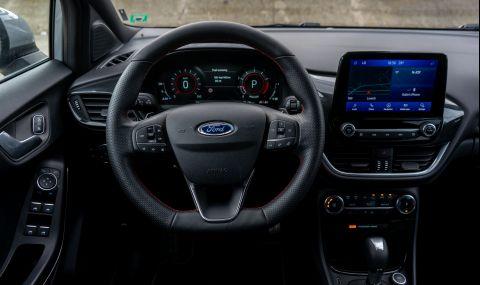 Тествахме Ford Puma. Повдигната Fiesta или нещо повече? - 18