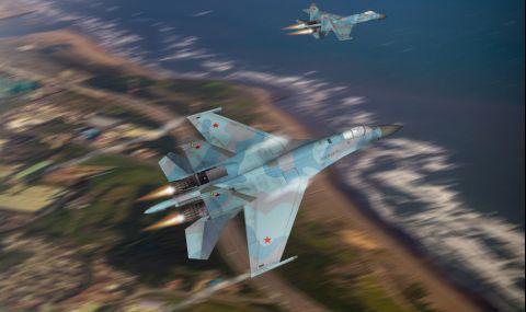 Американски самолет над Черно море стресна руснаците - 1