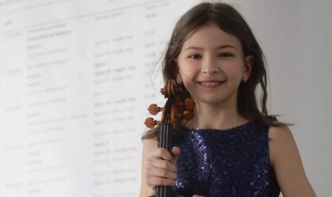 11-годишна цигуларка гостува на Новогодишния концерт в НДК - 1