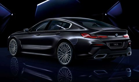 BMW показа колекционерска 8-Series Gran Coupe - 4