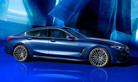 BMW показа колекционерска 8-Series Gran Coupe - 2
