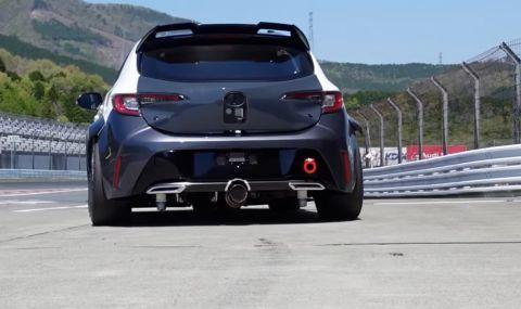Toyota ще се състезава с Corolla на водород (ВИДЕО)