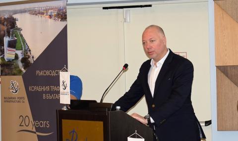 Желязков: В топ 4 сме в Европа по управление на корабния трафик