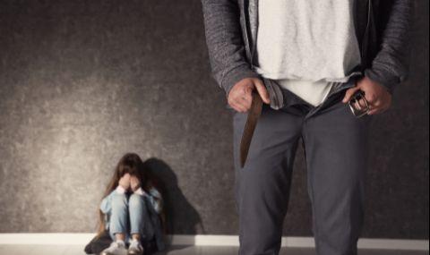 Мъж блудства с 12-годишното дете на гаджето си