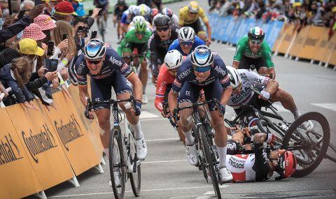 Инциденти белязаха третия етап от Обиколката на Франция. Белгиец триумфира (ВИДЕО) - 1