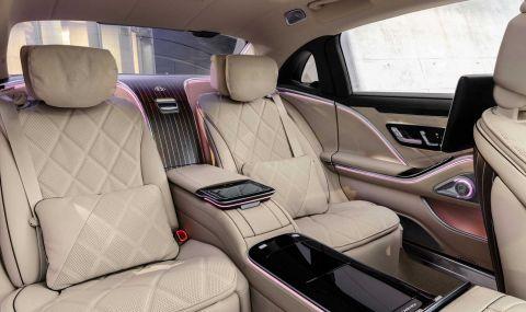 Mercedes се върна към V12 и представи Maybach S680 - 7