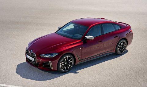 Новото BMW 4 Series Gran Coupe дебютира с познат дизайн и по-големи размери - 4