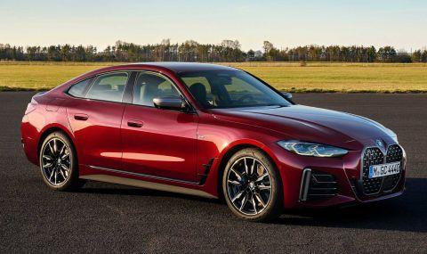 Новото BMW 4 Series Gran Coupe дебютира с познат дизайн и по-големи размери - 1