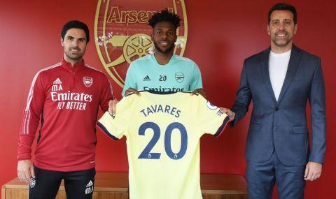 Арсенал обяви първо ново попълнение