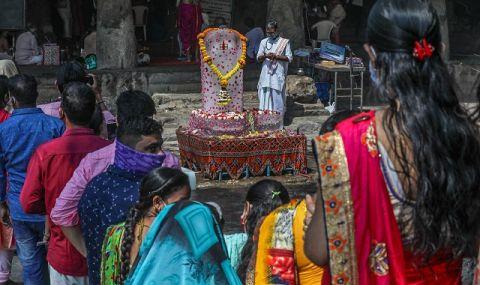 Икономика по време на пандемия! Индия отбеляза рекорден скок - 1