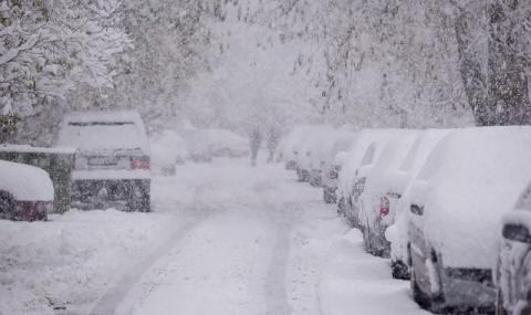 Сняг през април шокира Турция