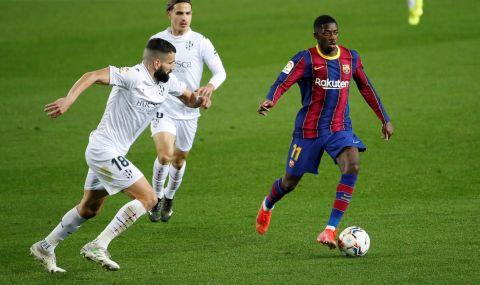 Барселона ще удължи договора на Дембеле
