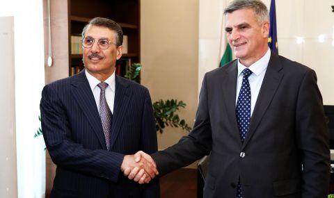 Стефан Янев проведе среща с посланика на Катар Рашид Али Ал-Хатър
