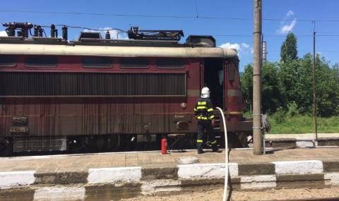 Пожар във влака София-Бургас, евакуираха 30 души