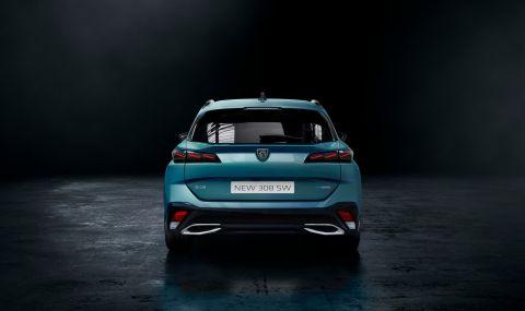 Новото Peugeot 308 SW показа, че комбитата също могат да са стилни - 6